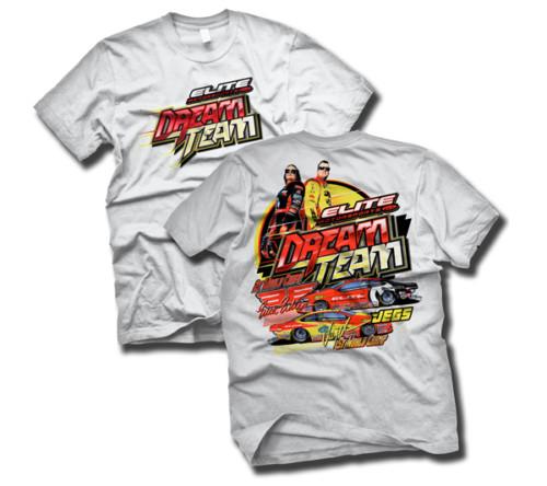 Elite Motorsports Dream Team t-shirt | Enders, Jeg