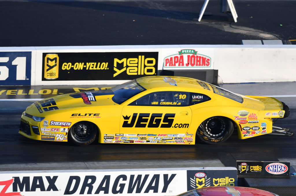 Jeg Coughlin Jr Remains In Control Of Pro Stock Class