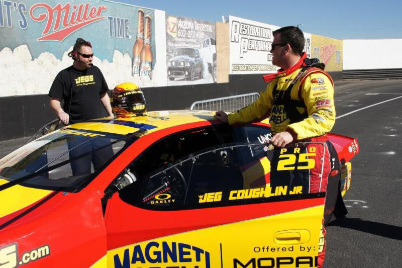 Jeg Coughlin Jr. returns to Pro Stock as an automatic title contender