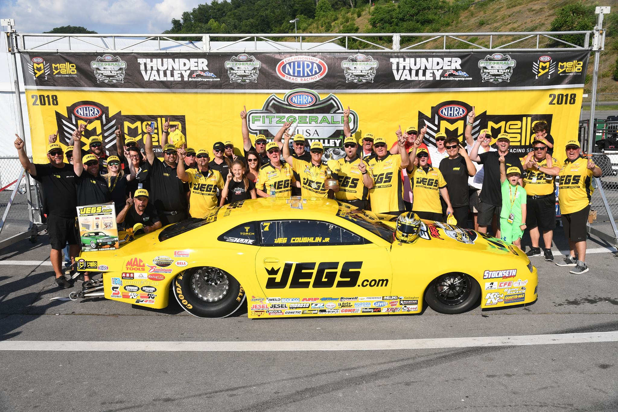 Jeg Coughlin Jr | NHRA Bristol 2018 Pro Stock win